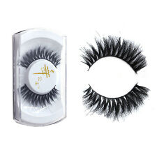 New 100% Real Horse Hair Natural Long Thick False Eyelashes Eye Lashes Makeup