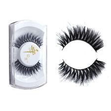 New 100% Real Horse Hair Natural Long Thick False Eyelashes Eye Lashes Makeup