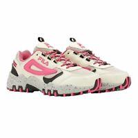 Fila Women's Reminder Athletic Running Hiking Shoes Pink/Tan/Black