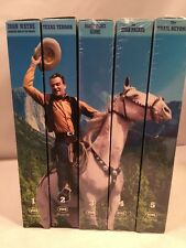 John Wayne American Hero of the Movies 5 VHS Tape Set - 3 Still Sealed (NIP)