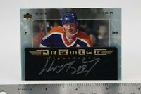 Wayne Gretzky Autographed Premier Signatures Upper Deck Hockey Card Signed 2004