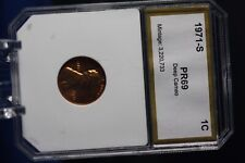 1971-S 1C Lincoln Cent Proof HIGHEST GRADED PR69/ DEEP CAMEO BEAUTY!!! SEE PICS!