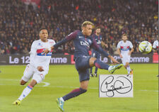 NEYMAR JR Signed 12x8 Photo Display PARIS SAINT-GERMAIN & BRAZIL Legend COA