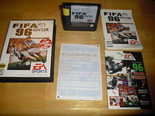 FIFA Soccer 96 (Sega Genesis) CIB Complete in Box with Registration Card Nr Mint