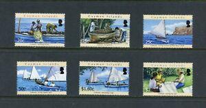Z121  Cayman Islands  2011  Catboats   6v.     MNH