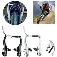 Complete MTB V Brake Levers Full Set Front/Rear Mountain Bicycle Cycling Durable