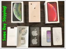 EMPTY BOX FOR IPHONE 5S, SE,6,6S,6S+,7,7+,8,8+ X XS XS MAX XR,11,11P,11M W/Accs