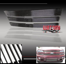 02-05 CHEVY TRAILBLAZER FRONT UPPER+BUMPER GRILLE GRILL COMBO 03 04 EXT LS LT