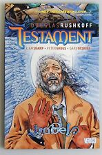 ESZ2285. Vertigo Douglas Rushkoff Testament: Babel Graphic Novel TPB (2007)_