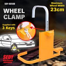 Wheel Clamp High Security Lock Camper Trailer Car Caravan Boat