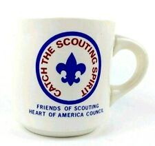 Boy Scouts Catch The Scouting Spirit Coffee Mug Heart of America Council Friends