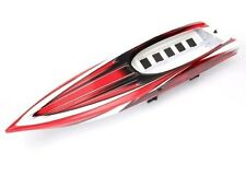 TRAXXAS SPARTAN BOAT RED Hull Factory painted ProGraphix + post & foam 5714X
