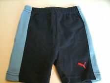 Puma Boy's Shorts Athletic Navy Blue Size 0-3 Months Pull On