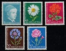 Zwitserland postfris 1963 MNH 786-790 - Pro Juventute / Bloemen / Flowers