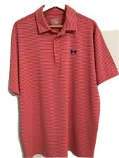 Under Armour Heat Gear Loose Mens Polo Size 2Xl