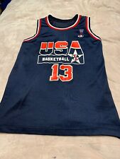 Champion Shaquille O'Neal Shaq USA Basketball Dream Team 2 Olympic JERSEY 15x26