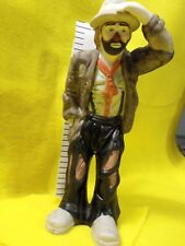 """Clown Emmet Kelly Figurine """" Look At You """" ExCond. About 8¼"""" tall No Box"""