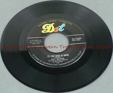 "1957 Pop PAT BOONE - A Wonderful Time Up There/Too Soon To Know VG+ 7"" 45"