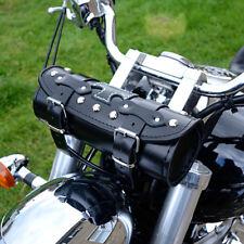 MOTORCYCLE LEATHER TOOL ROLL SADDLEBAG TRIUMPH ROCKET BONNEVILLE THUNDERBIRD