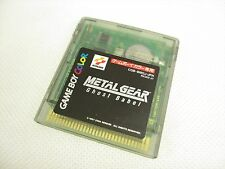Game Boy Color METAL GEAR Ghost Babel Nintendo Video Game Cartridge Only gbc