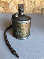 Dutton Lainson Golden Rod Oil Can 1 Pint Hastings Flex Spout USA