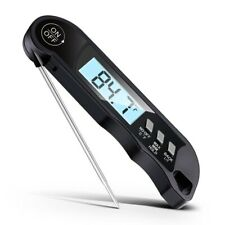 Instant Read Digital Waterproof Meat Thermometer For Cooking BBQ Grilling