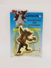 1984 Warner Brothers GREMLINS Pencil Sharpener MOC Vtg Stripe Gizmo Makeup