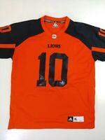 Adidas Jersey BC Lions Jennings #10 CFL football size XL
