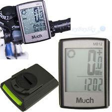 Wireless Cycle Bicycle LCD Computer Speedometer Odometer Auto Wake-up Waterproof