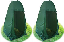 LOT 2~Portable Pop Up Tent Camping Beach Toilet Shower Changing Room Outdoor Bag