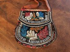 Native American Indian Beaded Pouch, 19th Century