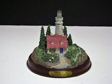Thomas Kinkade-Clearing Storms Illuminated Lighthouse Figurine