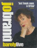 Jo Brand Barely Live Cassette Audio Comedy Humour Stand Up FASTPOST