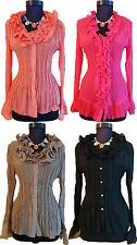Chiffon Long Sleeve Fitted Petite Tops & Shirts for Women