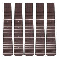 Concert Ukulele Fretboard 23 Inch Ukelele Hawaii Guitar Fingerboard  5 pcs
