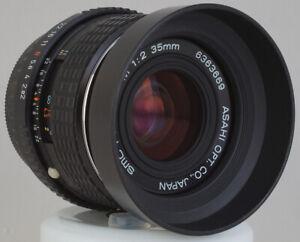 SMC Pentax-M 2,0/35mm Technik+Kosmetik NEU-Zustand + Geli-Blde M 2/35mm