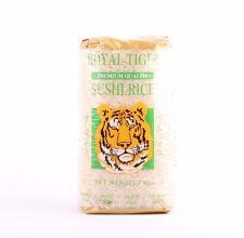 Royal Tigre Riz à Sushi 1kg Grains de Ronds Risotto Gluant