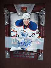 11-12 Crown Royale Ryan Nugent-Hopkins Auto RC 85/99 Calder Collection Edmonton
