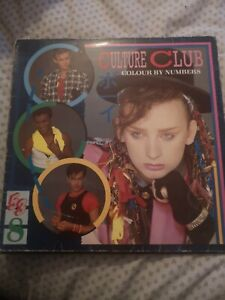 "Culture Club 'Colour by Numbers' 12"" Vinyl Record"