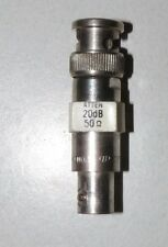 POMONA 4108-20 ATTENUATOR BNC MALE FEMALE INTERCONNECTS 20 dB 50OHM