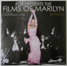 Fox Presents The Films Of Marilyn Monroe ™ 2014 Wall Calendar - New Sealed