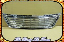 Lexus IS250 IS350 Billet Grille Grill w/o Logo Markless ALL Chrome GB-LXI1062A3