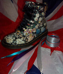 Satin Ribbon Shoe Laces with Aglet Tips*Funky Fancy for Dr Doc Martens*Converse