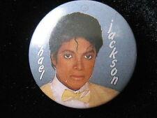 Michael Jackson-Yellow Bow Tie-Pin-Badge-Button-80's Vintage-Rare