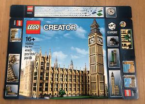 Lego 10253 Creator Expert Big Ben Leerkarton/Box/Ovp NEU
