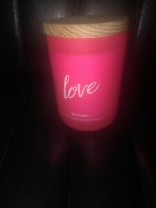 "DW Home ""Love"" Peony & Passion Fruit Scented 26.3 oz. Candle"