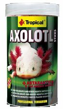 Axolotl sticks with Astaxanthin 135g for axolotls,frogs,liberian Ribbed