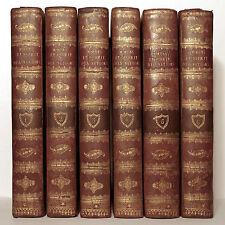 VOLTAIRE. ESSAI SUR LES MŒURS ET L'ESPRIT DES NATIONS. 1775. 6 VOLUMES.