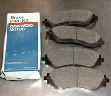 Chevrolet Daewoo Leganza Nubira Set Of Front Brake Pads Part Number 96245178