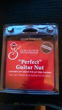 More details for grover 'perfect guitar nut' - lap steel slide converter / nut height extender